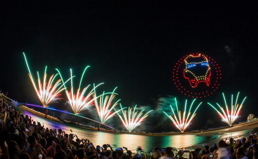 今年澎湖觀光旅遊爆棚 明年花火節多家國際知名企業主動要求聯名!!
