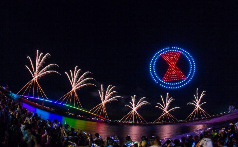 澎湖花火節璀璨閉幕 無人機、黃小琥表演驚艷25000人